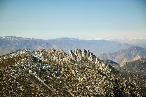 Lamont Peak pinnacles