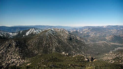 Lamont Peak east ridge