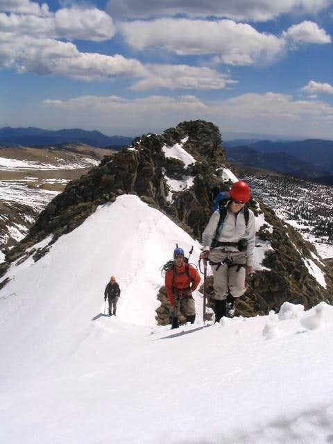 Mount Bancroft - East Ridge Direct (II 5.2)