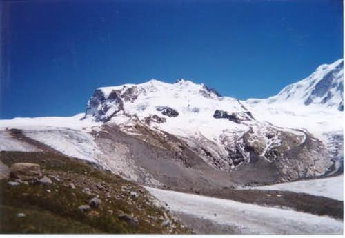 Monte Rosa massif from the...