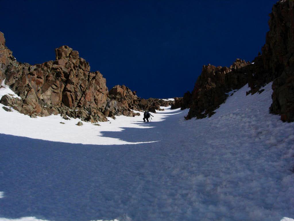 Climbing Mount Sneffels' South Face