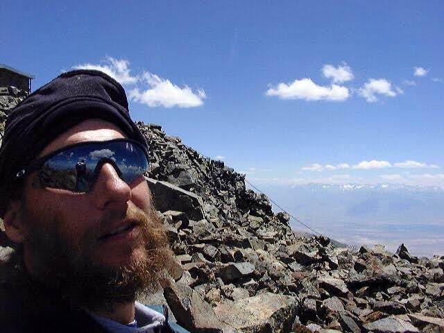 Self-portrait 100 ft west of...