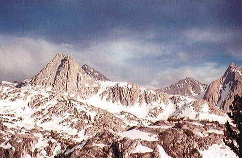 Mount Spencer (left,...