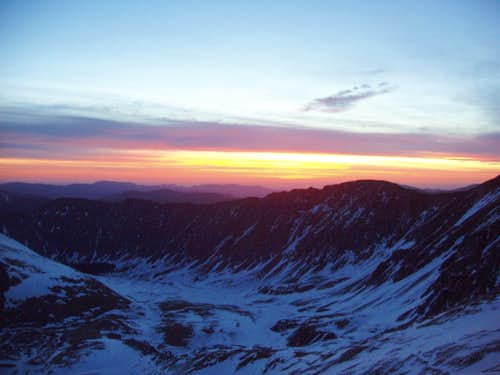Pre Dawn from Torreys