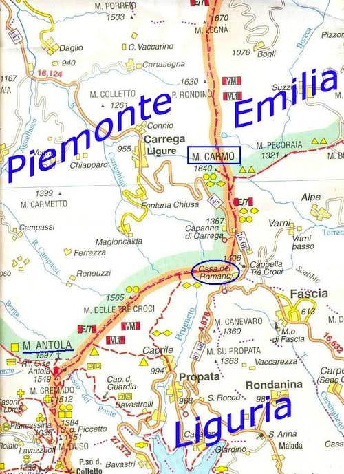 Cartina Carmo
