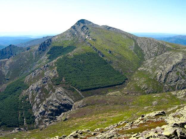 Ocejón (2.049 m.) from  Loma de las Piquerinas