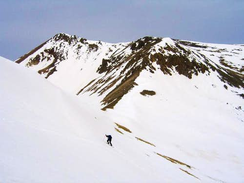 PT 13,162 ascent & PT 13,510