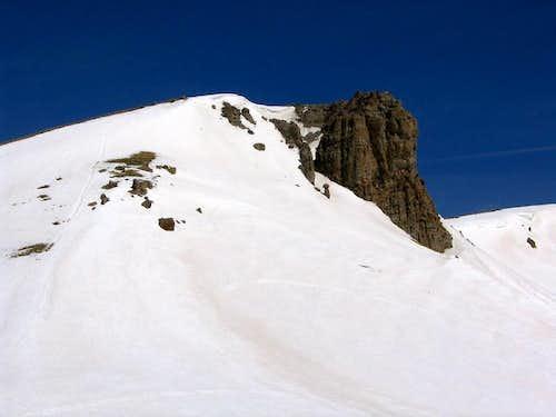 PT 13,162's south ridge