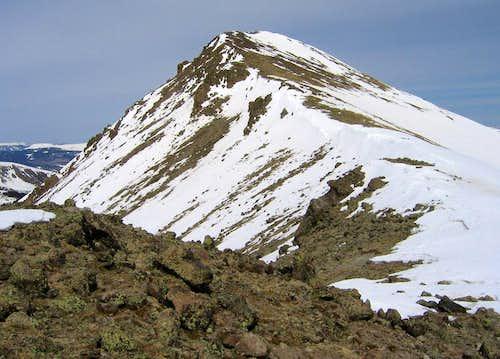 PT 13,510's south ridge