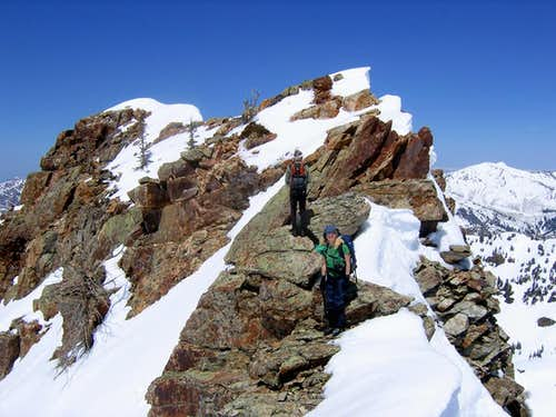 Sundial Peak Summit Ridge