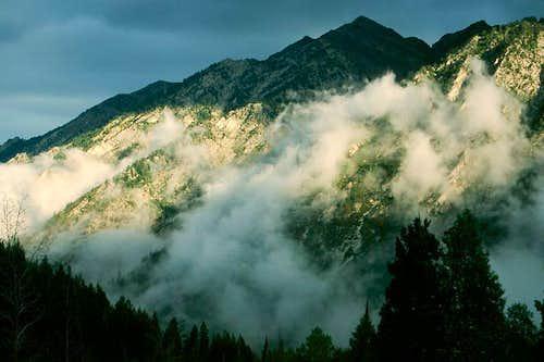 Twin Peaks & Clouds