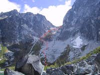 Aasgard Pass route