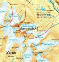 Sarektjåkkå Overview
