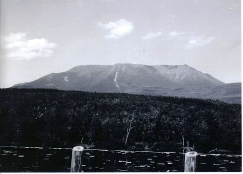 Katahdin from the Penobscot