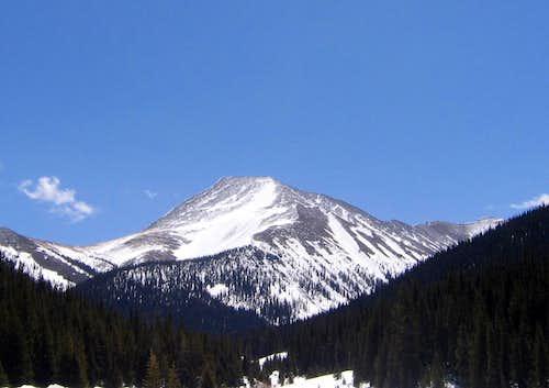 Mt Guyot's Northwest Ridge