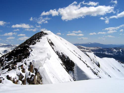 Summit Ridge of Mt Guyot