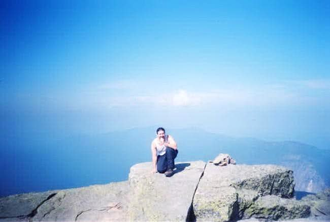 Mt. Lafayette. (6/16/01)