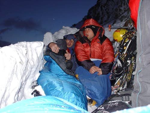 Waking up in the bivy