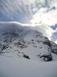 The Ice knob from the plateau