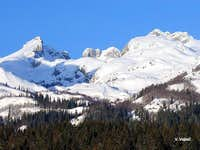 The massif of Durmitor