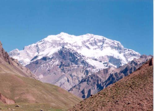 Aconcagua from entrance