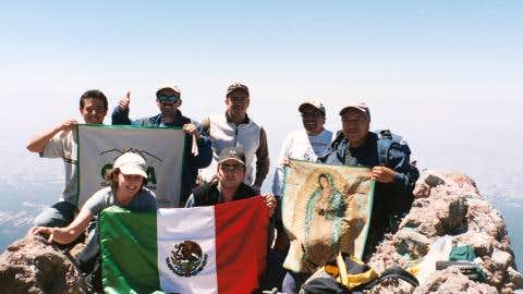 On the summit of Malinche,...