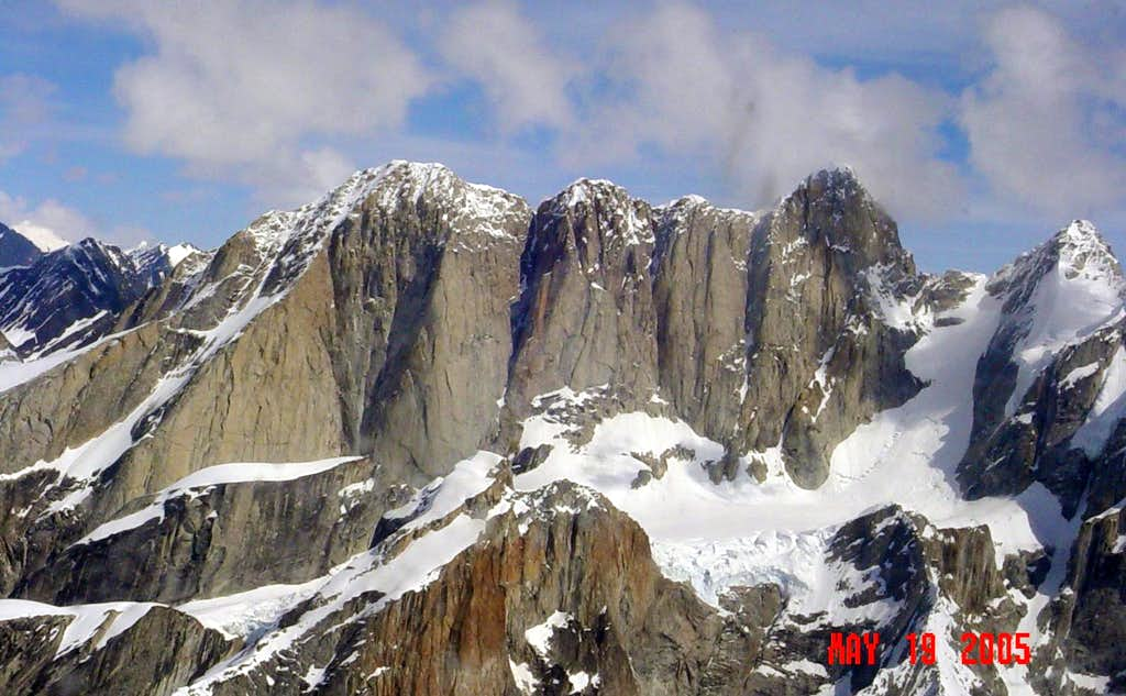 Moose's Tooth -- Ruth Gorge, Alaska