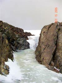 Alpine Ice -- Folly Couloir