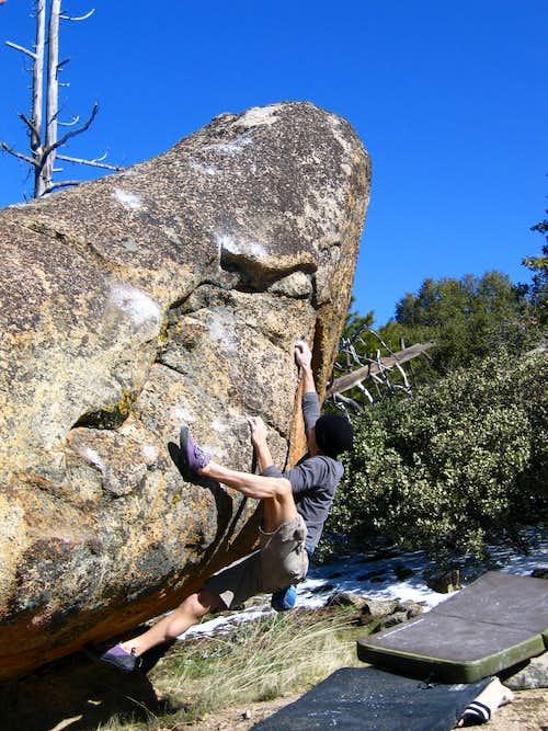 Floating Boulder Send