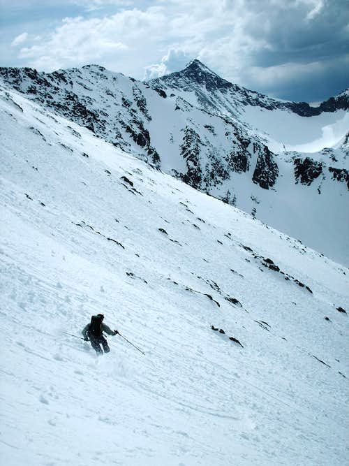 Skiing the Northwest Face