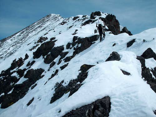 Climbing the West Ridge