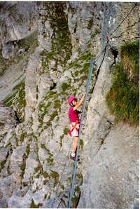 Via Ferrata Tälli