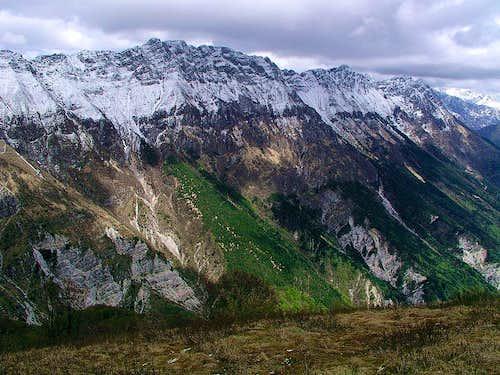 Monte Ciampon ridge