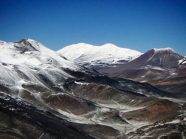 Olmedo from the summit of El Muerto