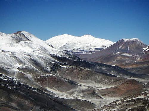 Olmedo from the summit of El Muerto