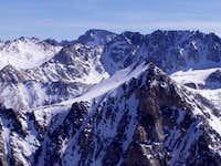 North face of Mt. Lamarck...