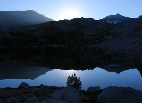 Sunrise from Bernice Lake
