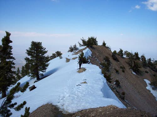 Descent from Summit to Pacific Crest Trail Junction