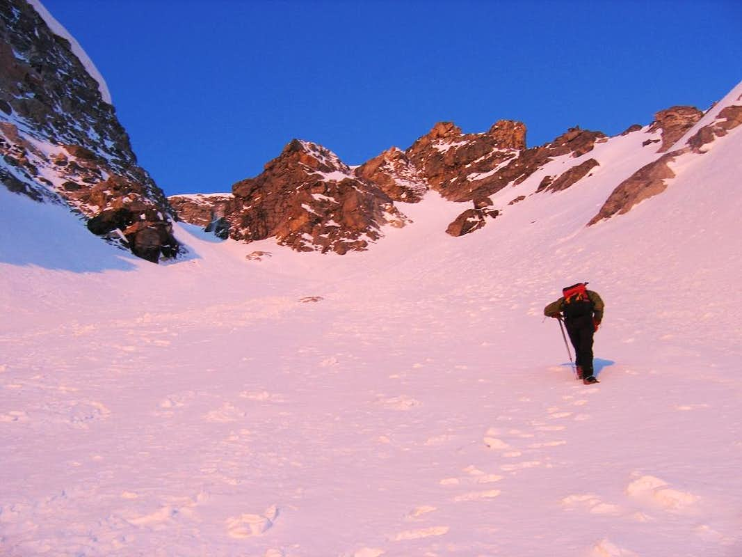 Lower Couloir