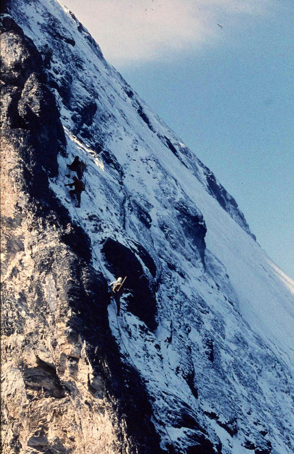 Eiger: Mittellegi ridge. Full...
