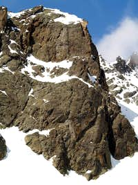 East wall of Vierge de l Aroletta <i>(2960m)</i>