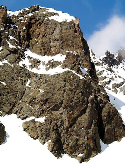 East wall of Vierge de l'Aroletta <i>(2960m)</i>