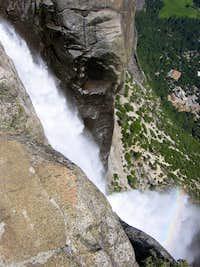 Brink of Upper Yosemite Falls