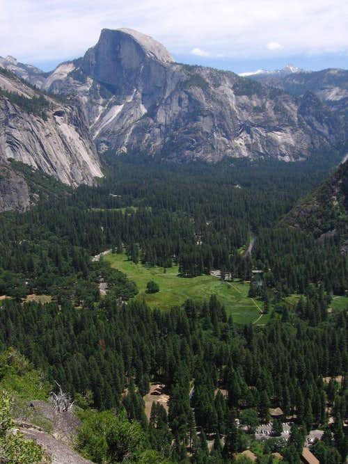 From the Upper Yosemite Falls Trail