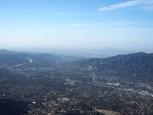 View of Crescenta Valley