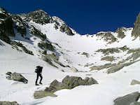 Summit seen from La Raconada