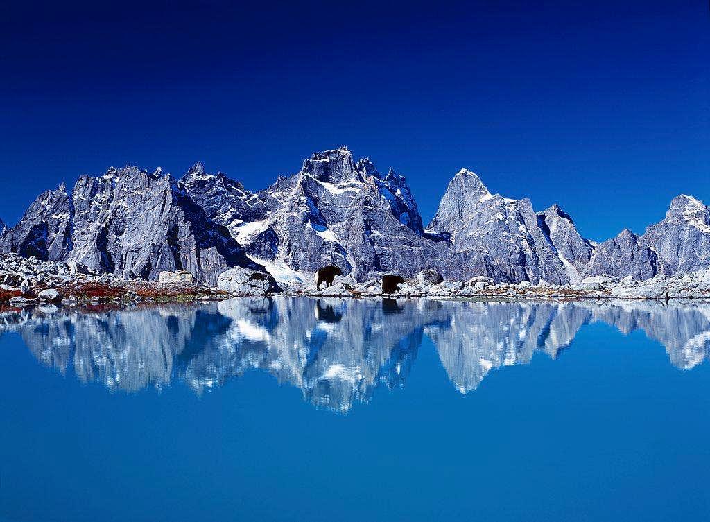 The mountains in Daogou...