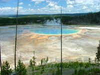 Yellowstone's largest hot spring