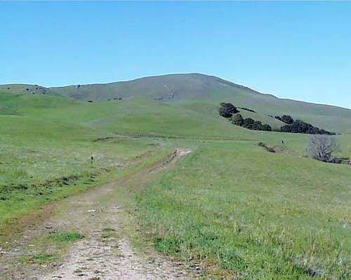 East side of Mission Peak...