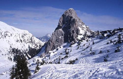 West face of Ruchenköpfe in...